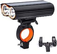 Bike Light, Bicycle Headlight, MLSice Super Bright Mountain Bike Front Light Cycling LED Headlamp USB Recharge