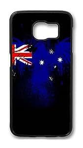 Brian114 Case, S6 Case, Samsung Galaxy S6 Case Cover, England Retro Protective Hard PC Back Case for S6 ( Black )