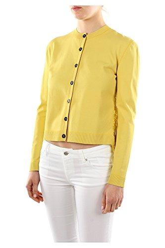 Cárdigans Valentino Amarillo Mujer Ib3ka00a1pg306 Viscose 4z6w56q