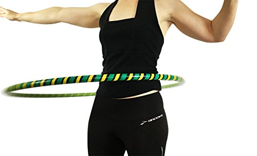 Weighted Hula Hoop for Exercise and Fitness - 38