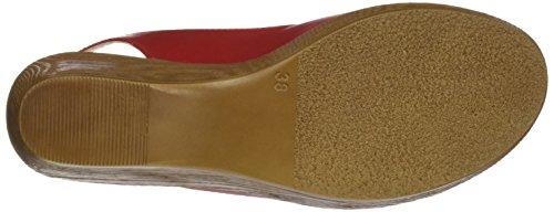 Mujer 7058150 Sandalias Con red Egoisimo Para Plataforma Rojo xvXdczOw