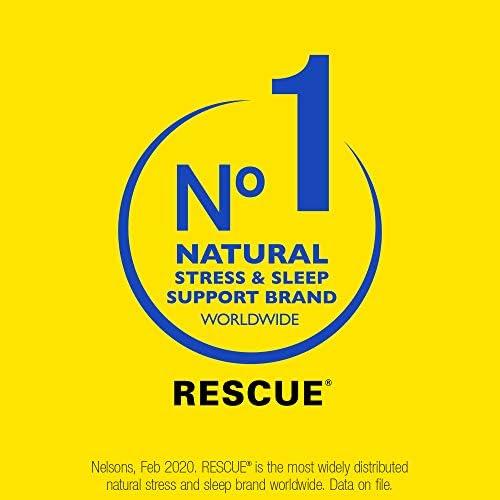 RESCUE PASTILLES, Homeopathic Stress Relief, Natural Orange & Elderflower Flavor – 35 Pastilles 41cye3Yh3hL