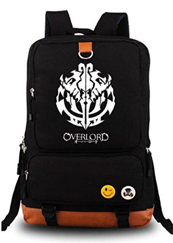 - Siawasey Overlord Ainz Ooal Gown Anime Cosplay Backpack Shoulder Bag School Bag