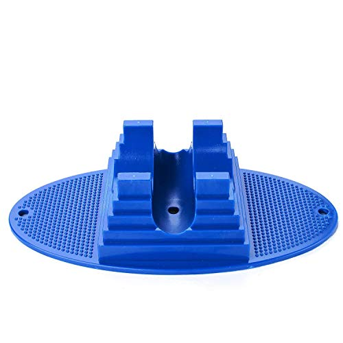VOKUL Pro Scooter Stand for 95mm to 120mm Scooter Wheels, Fit, Razor, Fuzion, Madd Gear, Lucky, Phoenix, District for Organized Storage and Safety-Blue