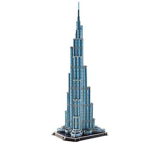 3D Puzzle Architecture World Building (Burj Khalifa FBAA)