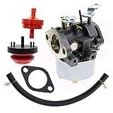 MOTOALL Adjustable Carburetor Tune up kit for Tecumseh 632111 John Deere AM100246 Oregon 50-642 MFG 1099 1432 Toro Wheel Horse 824 824XL 828 38080 38083 38084 38540 38543 38574 Snow Blower Thrower