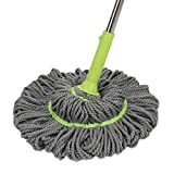 Professional Plus Microfiber Twist Mop Keeps Hands Dry with This Sturdy Mop,#a3