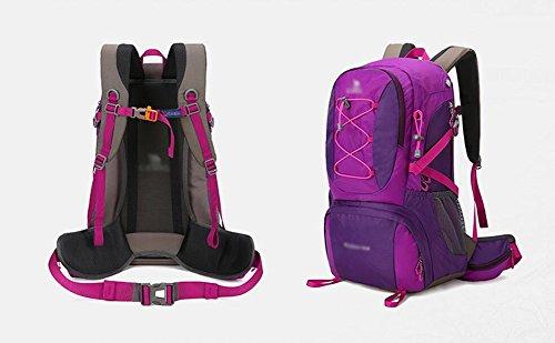 HWLXBB Outdoor Bergsteigen Tasche Männer und Frauen Leicht Mehrzweck Bergsteigen Tasche Wandern Camping Reisen Bergsteigen Rucksack ( Farbe : 2* )