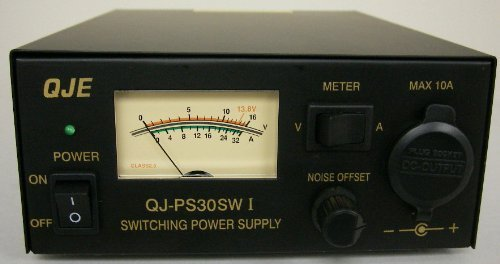 Regulated 30 Amp Compact Power Supply 13.8Vdc w/ - Police Scanner Amplifier
