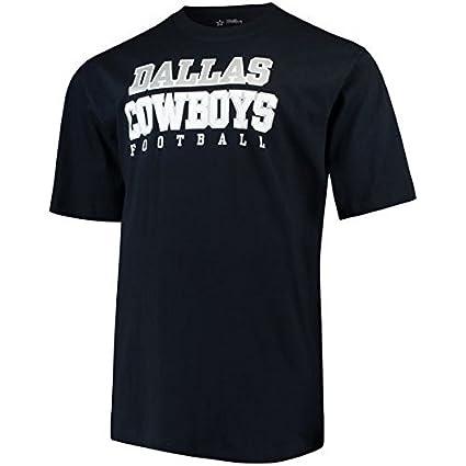 Amazon.com   Dallas Cowboys Men s Big   Tall Team Practice T-Shirt ... 157b39f2d