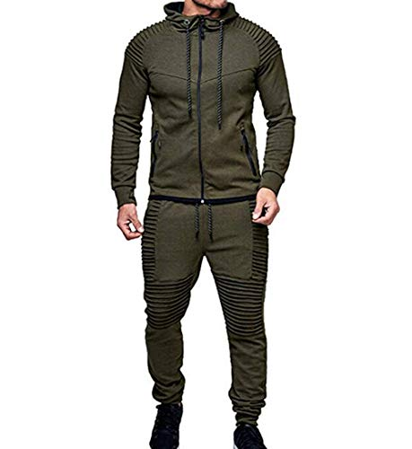 Men's Tracksuit Set Camouflage