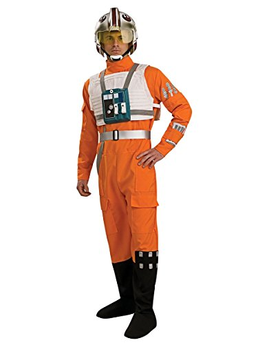 Men's X-Wing Fighter Pilot Star Wars Costume (X-wing Fighter Pilot Costume)