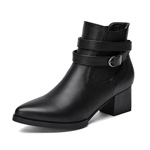 YL YL Femme Bottes pour Noir Bottes Bottes pour YL Noir Femme pour Femme Noir rzrwC6