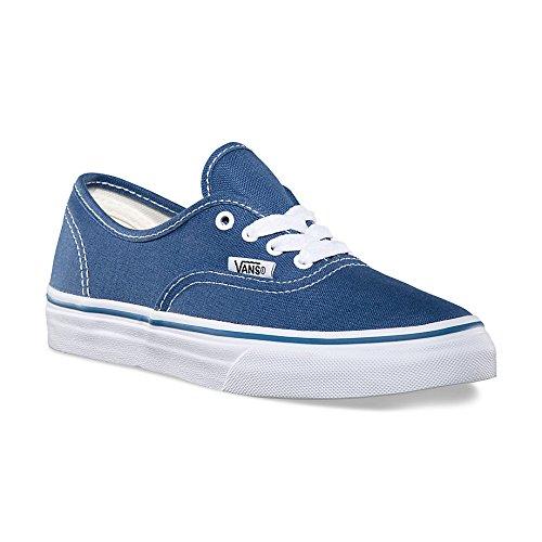 Vans Kids Authentic Navy/True White VN000WWXNWD Kids Size (Vans Authentic Girl)