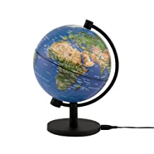 CRAM Herff Jones 6889-1379 5 inch Physical Illuminated Globe