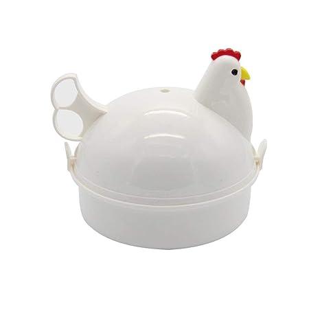 QQWYZZZ 4 capacidad de huevo, 5.2 x 5.2 pulgadas ...