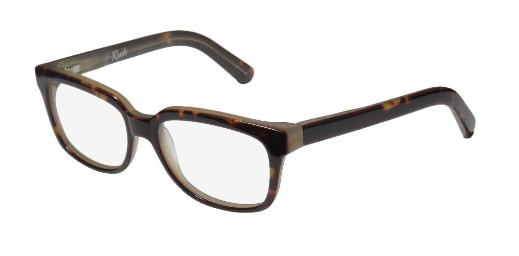 Elizabeth And James Reade Womens/Ladies Designer Full-rim Spring Hinges Adult Size Beautiful Trendy Eyeglasses/Spectacles (52-16-140, Tortoise)