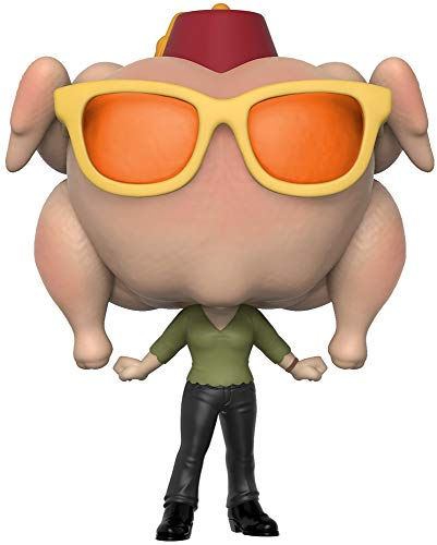 Funko- Figura Pop Friends Monica with Turkey Exclusive, Multicolor, Talla Unica (706)