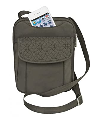Travelon Anti-Theft Slim Pouch With Stitching