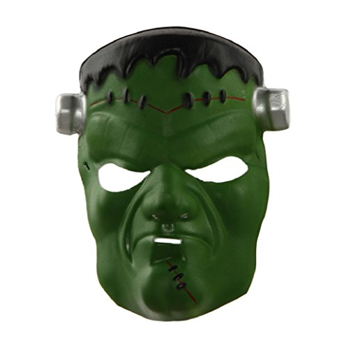 [TIFENNY New Halloween Funny Diversity Fancy Ball Mask (green)] (The Joker Masquerade Costume)