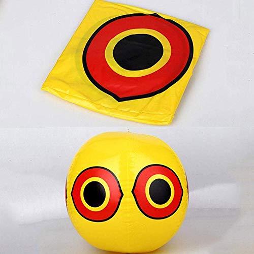 Jaune Brillant Balloon Bird Repellent Ballons pour Les Yeux effrayants pour Bird Gardens Orchard MOGOI 3pcs Ballons /Épouvantails Effaroucheurs