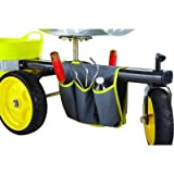 Gorilla Carts Rolling Garden Scooter with bucket holder