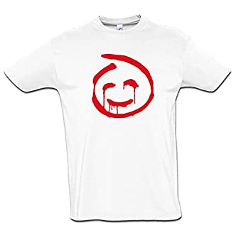 b2a2774326b Tee shirt Mentalist - smiley John le rouge  Amazon.fr  Vêtements et ...