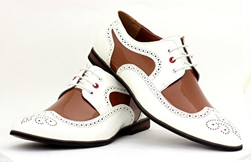 Ufficio Elegante Uk : Da scarpe uk elegante uomo marrone misura ufficio da bianco elegante