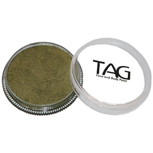 TAG Face Paints - Pearl Bronze Green (32 gm) ()