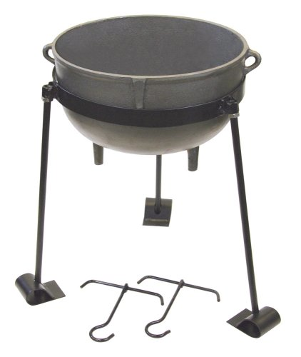 Bayou Classic Cast Iron10-gallon Jambalaya Pot (Jambalaya Pot Stand)