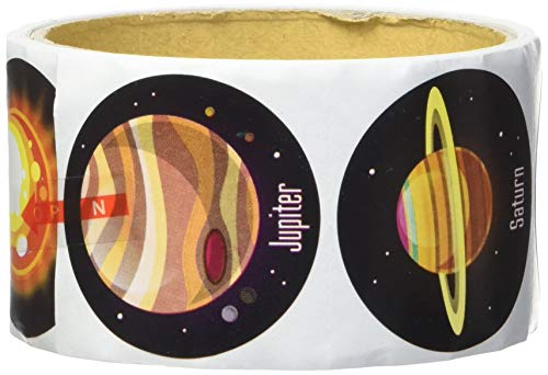 (100 ~ Solar System / Planets Stickers ~ 1.5