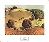 Young Corn by Grant Wood 20.00X17.00. Art Poster Print