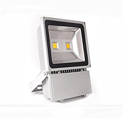 100W LED flood light outdoor daylight white safety light super-flood light IP65 110V waterproof for landscape lighting wall light 9000LM equivalent to 900W halogen bulb