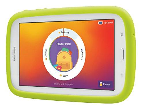 Samsung Galaxy Tab 3 Lite Kids Edition – Green Bumper