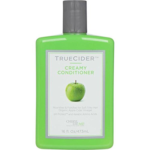 TrueCider Hypoallergenic Creamy Conditioner with Real Apple Cider Vinegar (Rinsing Your Hair With Apple Cider Vinegar)