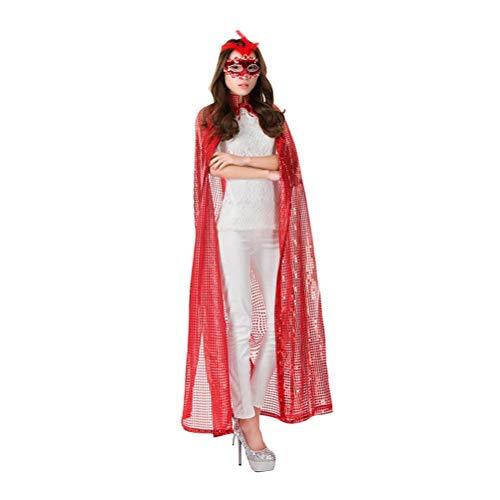 Sequin Cloak with Hood - Elvish Robe Cape