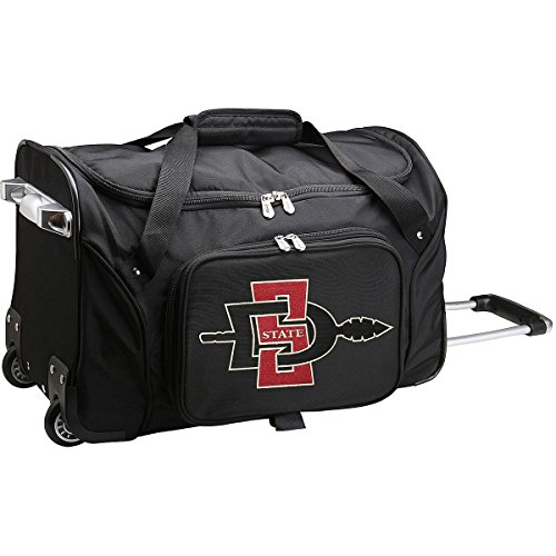 NCAA San Diego State Aztecs Wheeled Duffle Bag