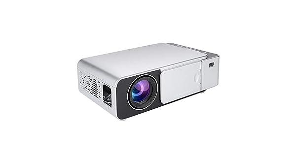 Amazon.com: Fosa HD T6 WiFi LED Proyector Plata 100-240V ...