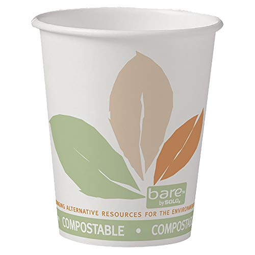 Solo 370PLA-J7234 10 oz Bare SSPLA Paper Hot Cup (Case of 1000)