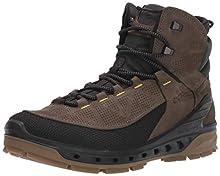 ECCO Biom Venture TR, Zapatos de High Rise Senderismo para Hombre, Negro (Black/Tarmac 56665), 41 EU
