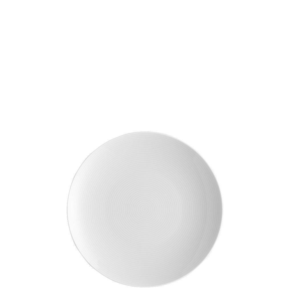 Thomas Loft Piatto piano di porcellana bianca, 18 cm Rosenthal