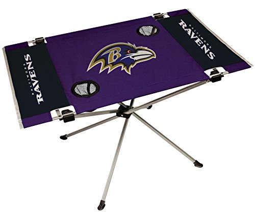 NFL Baltimore Ravens End Zone Table, Large/31.5