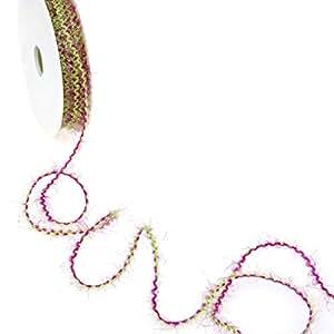 Fleco Cordón–Verde claro de color rosa–2mm–15M–5796
