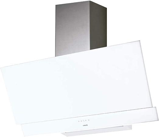 CATA JUNO 600XGWH 575 m³/h De pared Blanco A+ - Campana (575 m³/h, Canalizado/Recirculación, A, B, E, 61 dB): Amazon.es: Grandes electrodomésticos