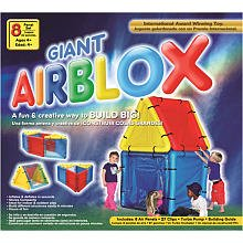 Giant Airblox Make Your Own House