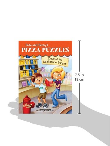 Case of the Bookstore Burglar #3 (Pete and Penny's Pizza Puzzles)