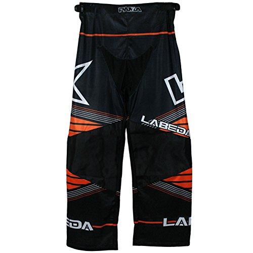 Pants Line Hockey In (LABEDA Roller Hockey Inline PANTS PAMA 7.2 BLACK/ORANGE/ANGLE Size S)