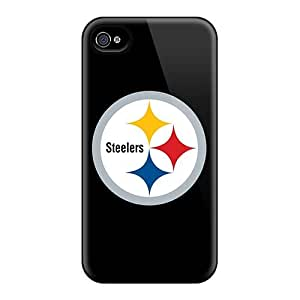 Fashion Protective Pittsburgh Steelers 2 Cases Covers For Iphone 4/4s
