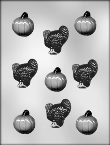 - CK Products Pumpkins and Turkeys Chocolate Mold