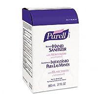 GOJ965606 - PURELLreg; Repuesto de desinfectante de manos de dispensador de bolsa en caja de 800 ml
